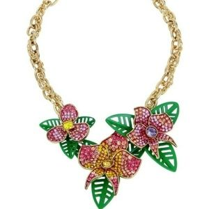 Betsey Johnson TROPICAL PUNCH STATEMENT NECKLACE